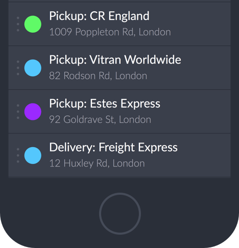 ios device delivery app