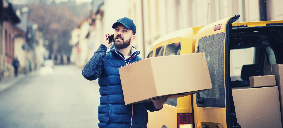 Contactless deliveries during Covid-19